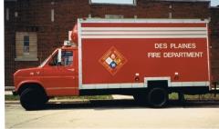 DPFD HazMat truckl