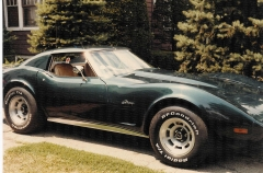76 Vette, complete with repaired seams