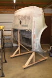 Body on cart to prep for making mold of tail lamp section