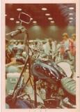 show winning paint job at Chicago Bike show 1976