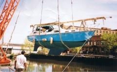 35 foot sail boat